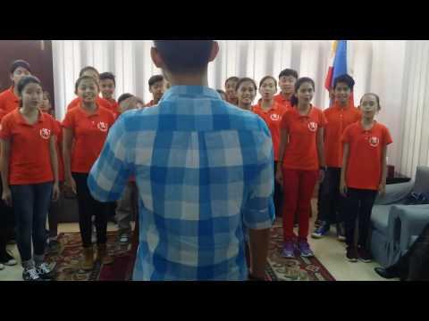 Loboc childrens choir - Philippine Embassy Dhaka Bangladesh