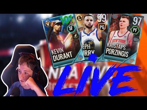 2ba07e63646 NBA LIVE MOBILE SHOWDOWN GRIND ON MY NO MONEY SPENT ACCOUNT - YouTube