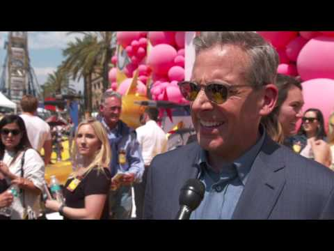 Interview with Steve Carell - voice of Gru and Dru - Despicable Me 3