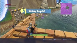 FORTNITE:FREE LOOT AT TILTED AND TRYING TO KILL FINAL BUM WITH TRAP