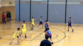 筲箕灣崇真小學VS信愛(學界籃球決賽2O16)