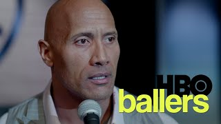 Ballers Season 2 Finale - Spencer Strasmore monologue speech to the rookies Fucking Be Smart