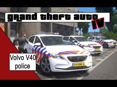 GTA 4 Volvo V40 police car [NL]