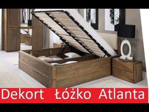 łóżko Z Pojemnikiem Atlanta Meble Dekort Jakie łóżko Wybrać Kupić łóżko Ze Skrzynią
