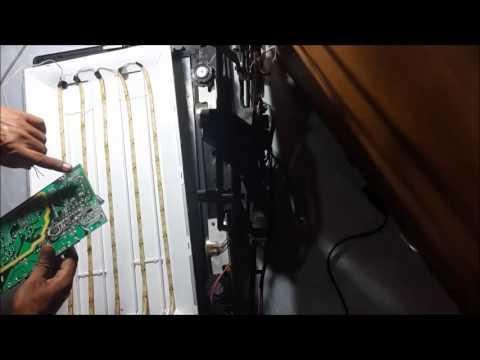 cara mengganti backlight tv LCD menjadi LED thumbnail