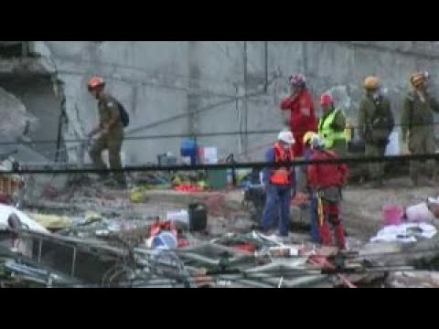 Mexico City rescue efforts continue after second earthquake