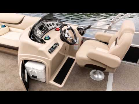 SUN TRACKER Boats 2015 PARTY BARGE 22 DLX And XP3 Pontoon Boats