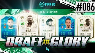 PRIME ICON MOMENTS IN FUT DRAFT!! - FIFA20 - ULTIMATE TEAM DRAFT TO GLORY #86