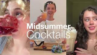 Host a Midsummer Party with Cocktails and Mocktails | A Midsummer Night's Dream | Bridge Theatre