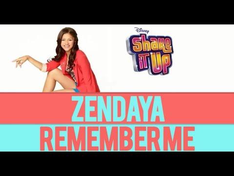 Shake It Up - Zendaya Remember me Audio