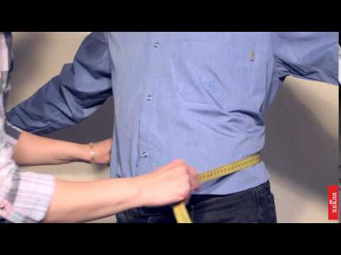 ХЕКЛЯ. Как снимать мерки: обхват талии.