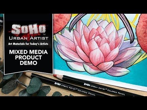 SoHo Mixed Media Demo