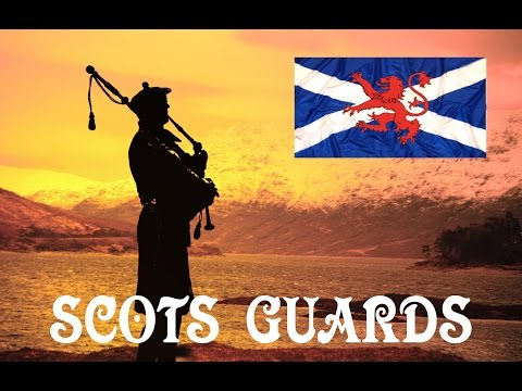 Scots Guards ~ Pipes & Drums ~ Skye Boat Song.
