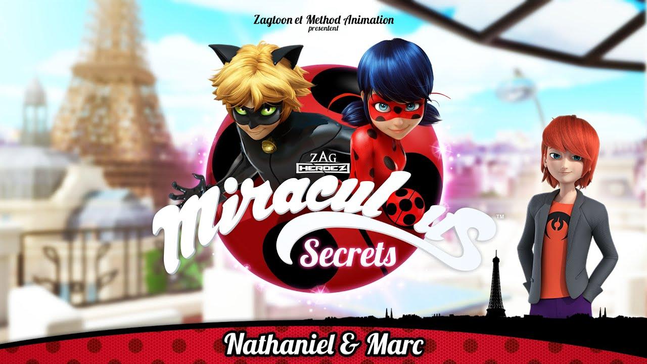 MIRACULOUS SECRETS   🐞 NATHANIEL & MARC 🐞   Tales of Ladybug and Cat Noir