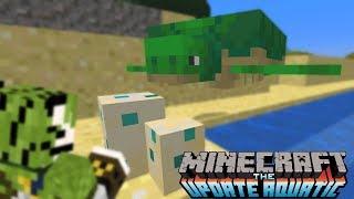 SCHILDPAD LEGT EEN EI! - MineCraft Aquatic Survival #5