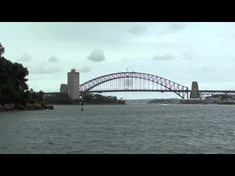 Parramatta to Sydney on the Rivercat