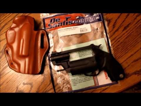 Leather holster for Taurus poly public defender