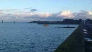 Roscoff - 21 janvier 2013 - Sur le quai en fin d