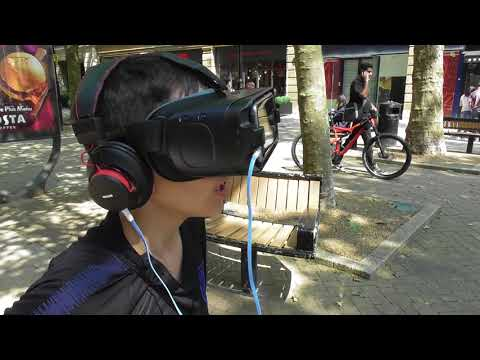 Young man learns truth via Virtual Reality of Pigs #1