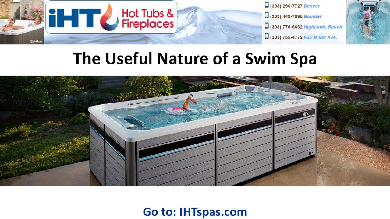 Hot Tubs Aurora, Swim Spas for Sale - YouTube