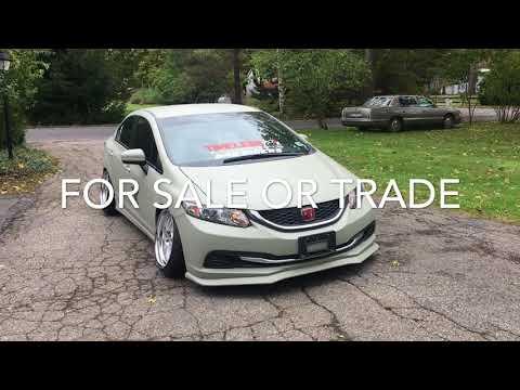 2014 Bagged Honda Civic For Sale (2019)