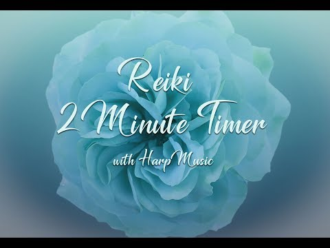 Reiki 2 Minute Timer with Harp Music and 26 x 2 Minute Bell Timers