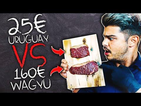 25 URUGUAY Steak VS 160 WAGYU Steak  | #Vassili