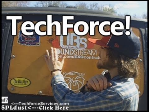 TechforceServices FTW! - EXO's 1st EVER Car Audio Stickers & Custom Decals!!!!