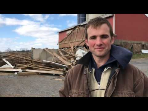 Lancaster County farm owner describes the storm