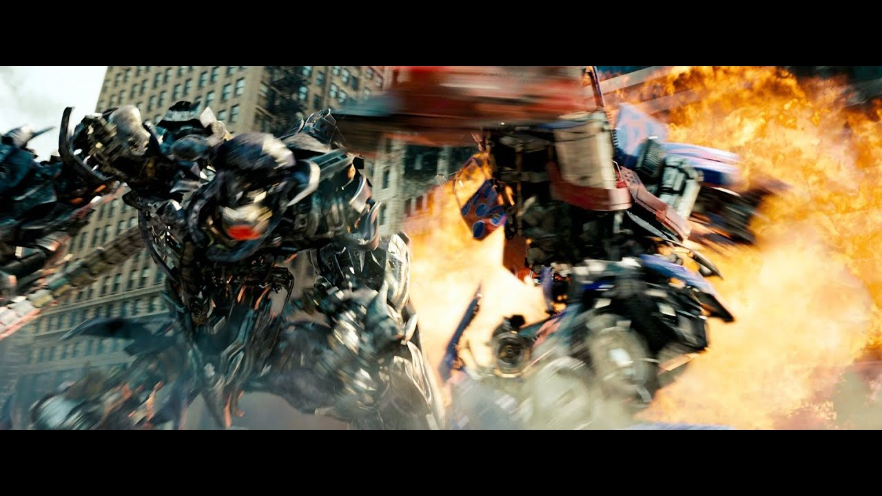 Transformers Dark Of The Moon Optimus Prime Vs Shockwave