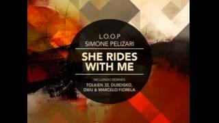 #BZM017: L.O.O.P, Simone Pelizari - She Rides With Me (DWU, Marcelo Fiorela Remix)