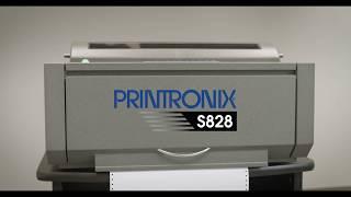 Printronix S828 Serial Dot Matrix Printer