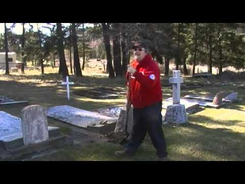Falkland Cemetery Clean-Up 2011.wmv