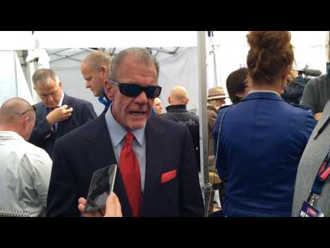 Colts in London: Jim Irsay on Andrew Luck