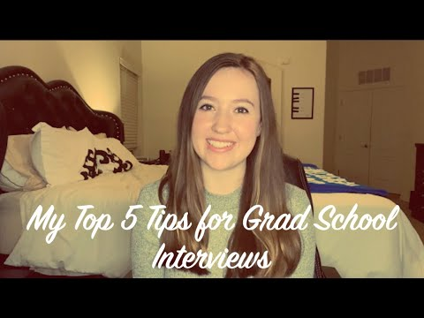 my-top-5-tips-for-grad-school-interviews-|-for-counseling-and-psychology-programs