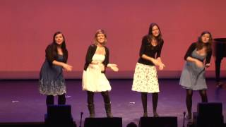 hmt Rostock Folk-Quartett - Bring me little water, Sylvie (Leadbelly)