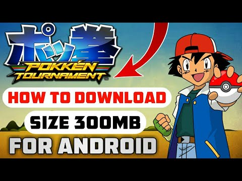 [300MB] HOW TO DOWNLOAD POKEMON TOURNAMENT GAME FOR ANDROID || WITH GAMEPLAY PROOF || HINDI