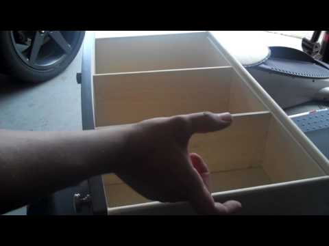 Wooden Drawer Divider DIY