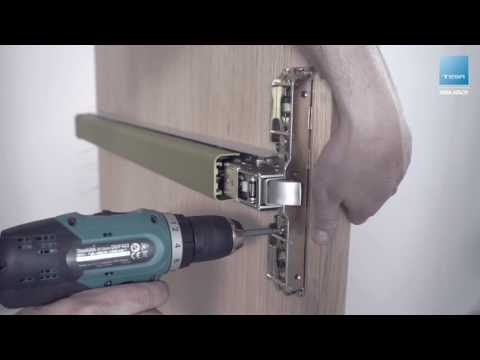 Three locking point TOP panic exit device installation – TESA ASSA ABLOY