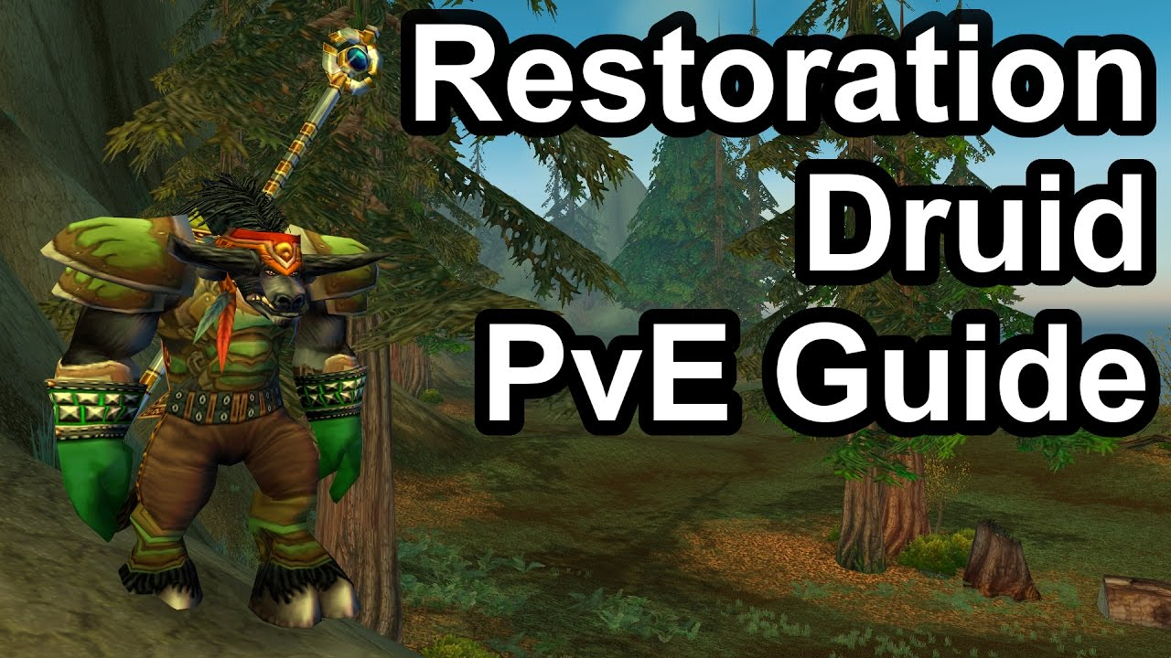 Quick Resto Druid PvE Guide (1 12 1) [WoW Classic]