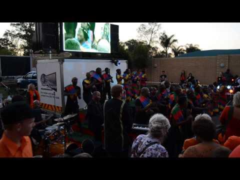 Celebrations at Dutch embassy Pretoria, South Africa - 30th April 2013 - part 1