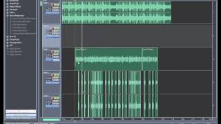Видео-урок по сведению в Adobe Audition 1.5. Сведение