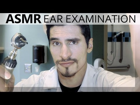 ASMR Ear Exam and Ear Cleaning Role Play for Sleep Binaural