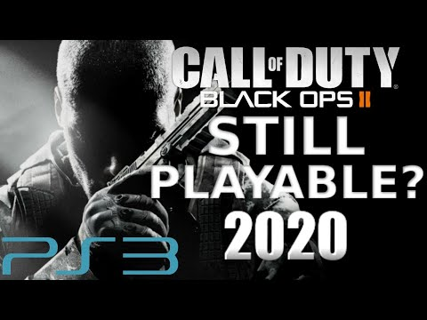IS BLACK OPS 2 STILL PLAYABLE ON PLAYSTATION 3 IN 2020?