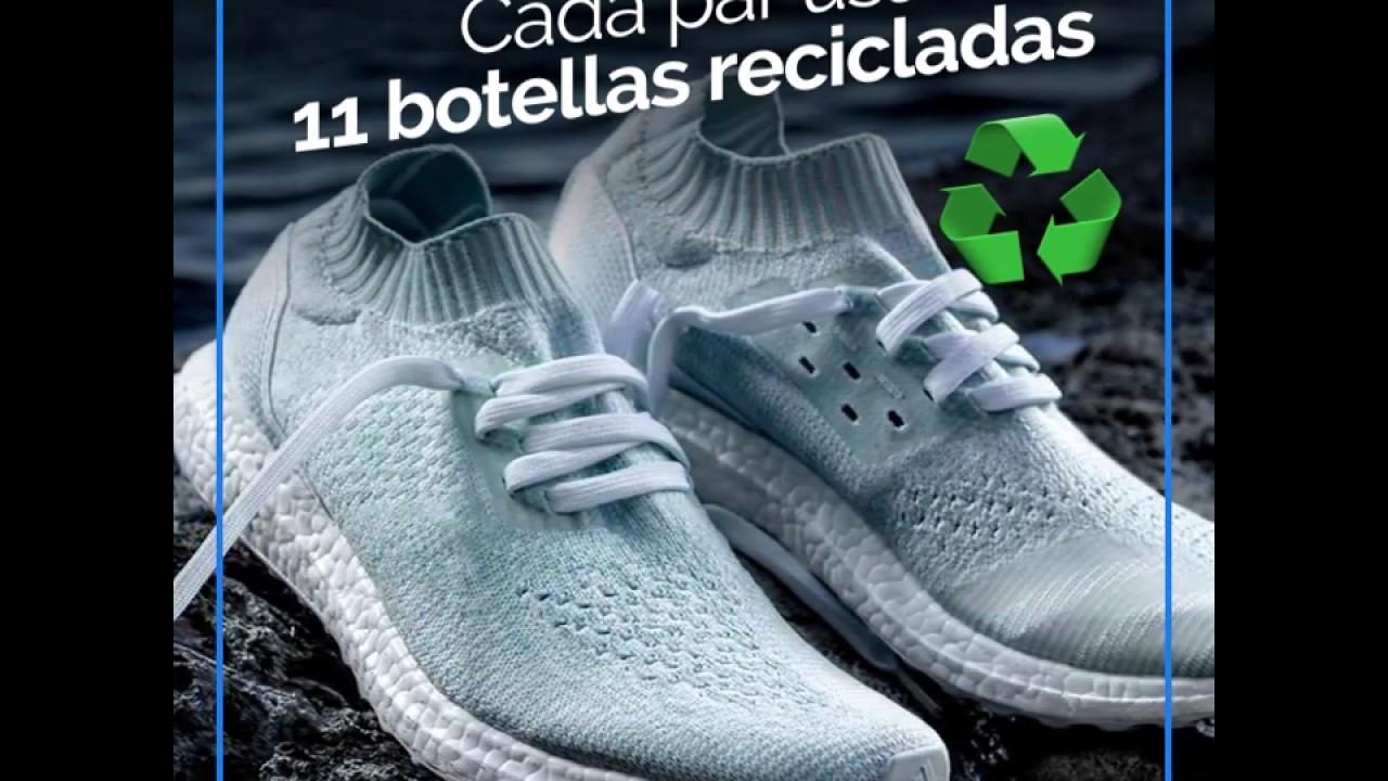 Adidas Sacaron Y De Zapatillas Hechas Parley Una Nueva Con Línea QrhdCts