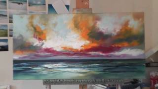 Speed Painting: Landscape Painting Demo-