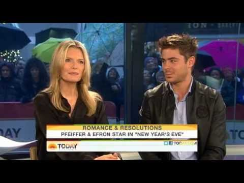Michelle Pfeiffer & Zac Efron on The Today Show - 12/7/2011