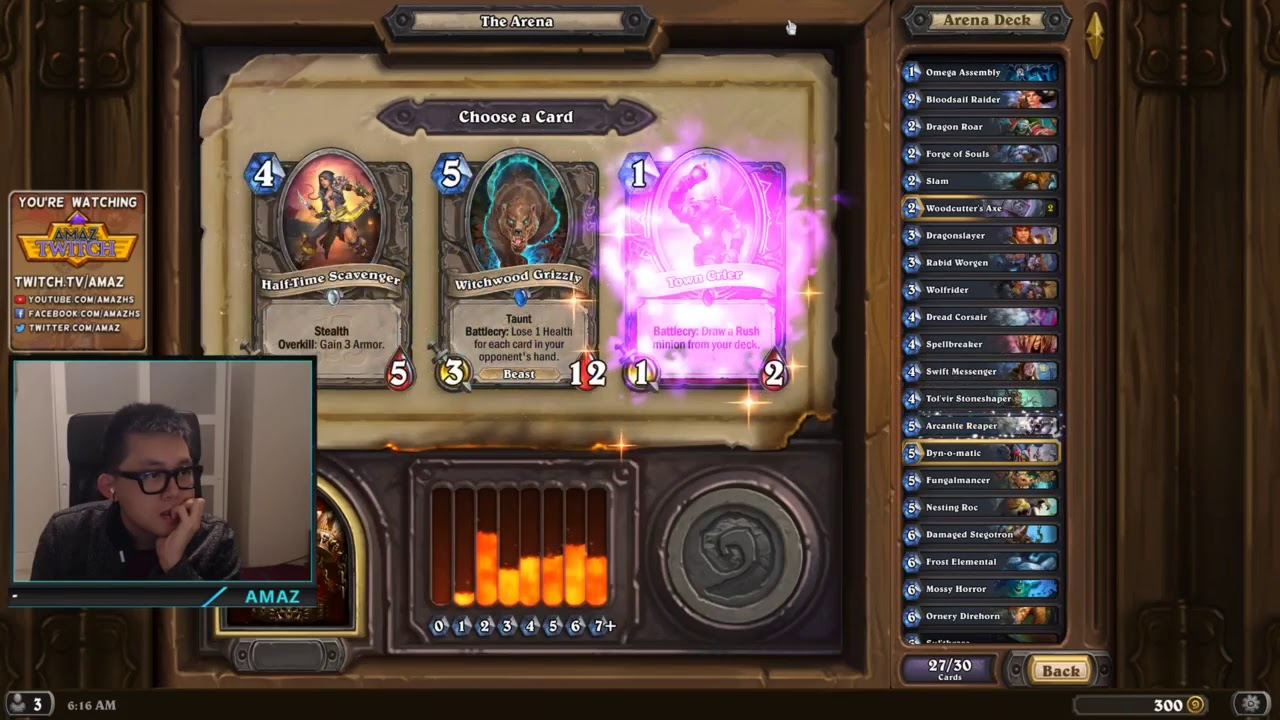 Hearthstone Arena - Warrior is the best arena class right now!