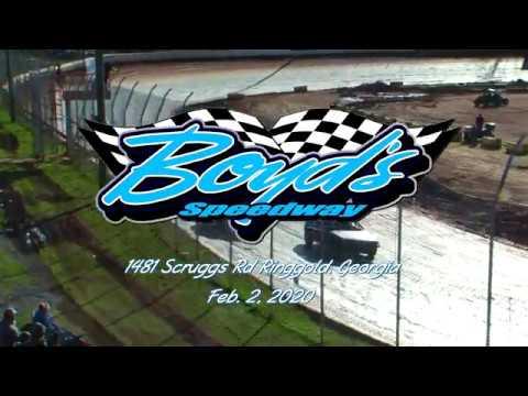 Hot Shots @ Boyds Speedway Cabin Fever Feb  2, 2020