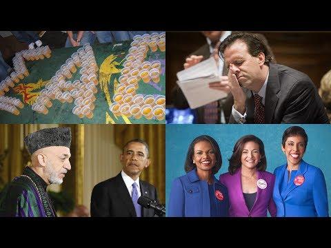 Full Episode: Afghanistan Pullout, #BanBossy, Racist GOP Tweet & Frat Life